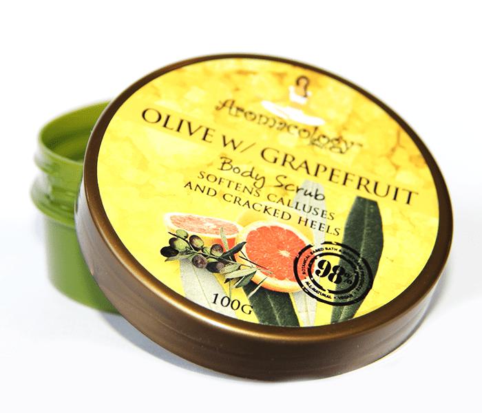 Body Scrub - Olive & Grapefruit